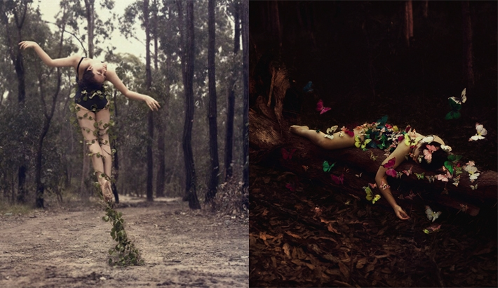 Surreal And Conceptual Self Portraits By Ingrid Endel