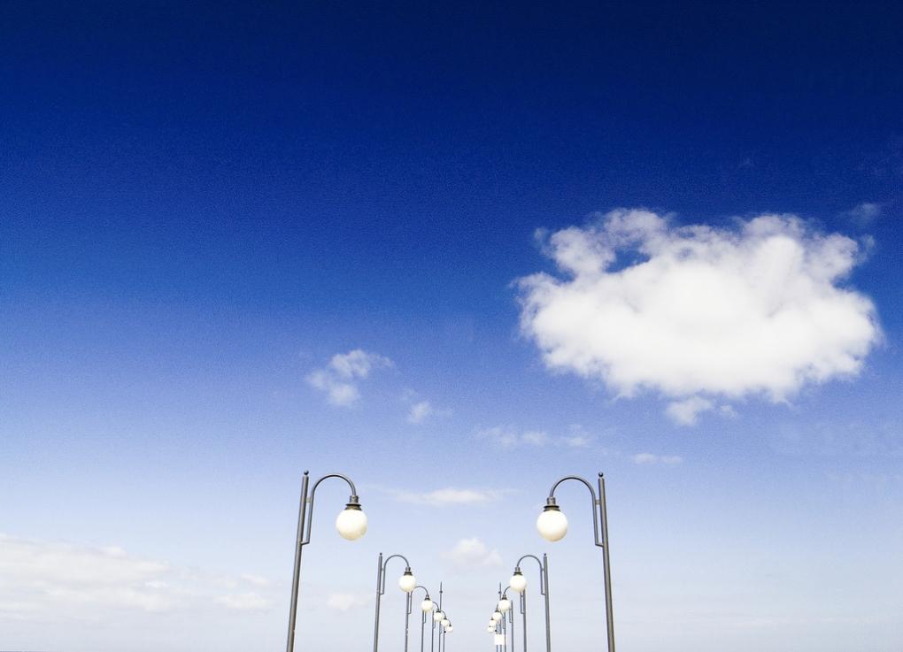 Blue Sky Above