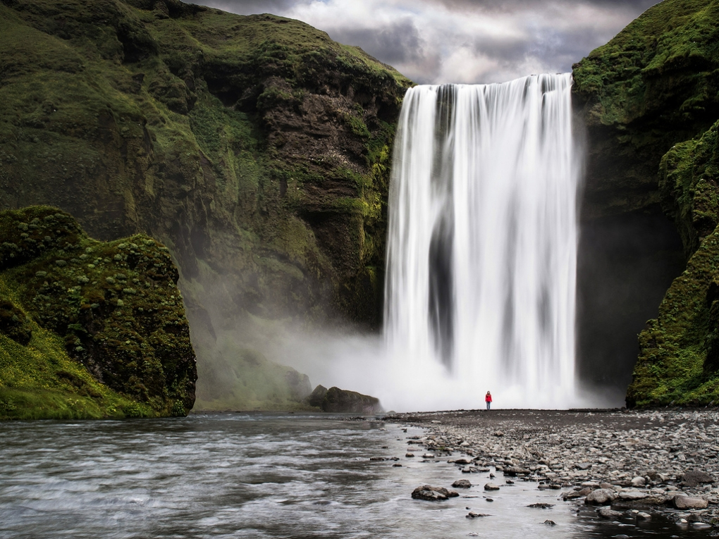 The Waterfall and the Girl