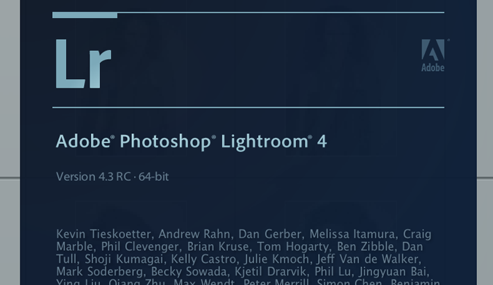 Adobe Photoshop Lightroom 4.3 and Camera Raw 7.3 Release Candidates Available for Download