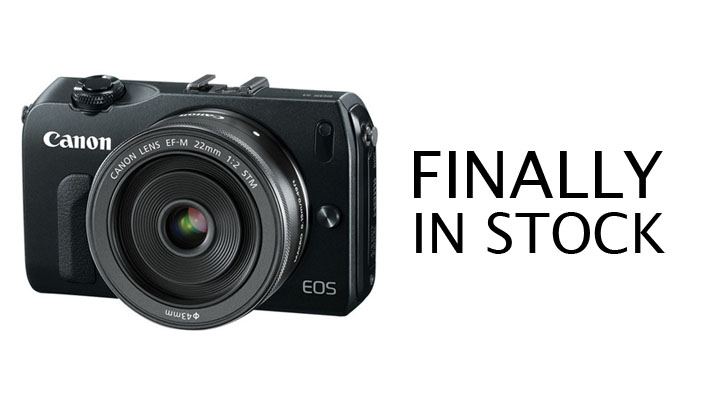 Canon EOS M Finally  Makes Its Appearance