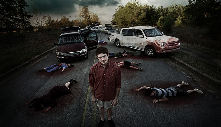 Ethan Gulley's Zombie Apocalypse Photo Series