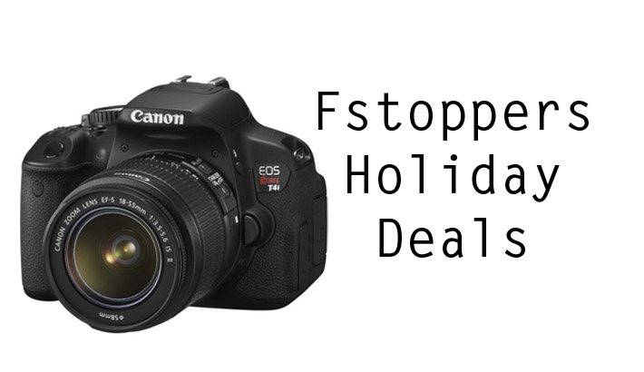 $100 Off The Canon EOS Rebel T4i Bundled With The 18-55mm f/3.5-5.6!