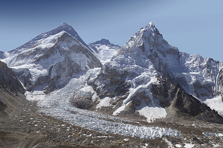 Gigapixel Image Of Mt. Everest And The Khumbu Glacier