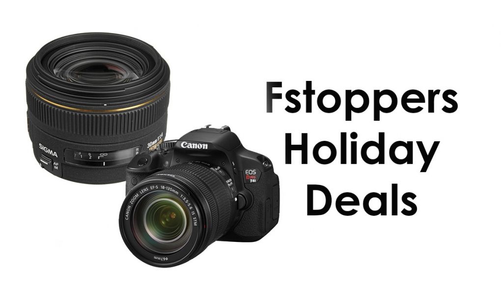 Save up to $800 on a Canon Rebel T4i Bundle and Save Big on the Sigma 30mm f/1.4!