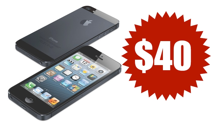 I Just Bought The iPhone 5 For $40.