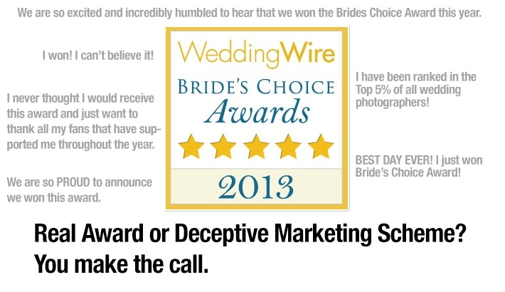 What is Really Behind WeddingWire's Bride's Choice Award?