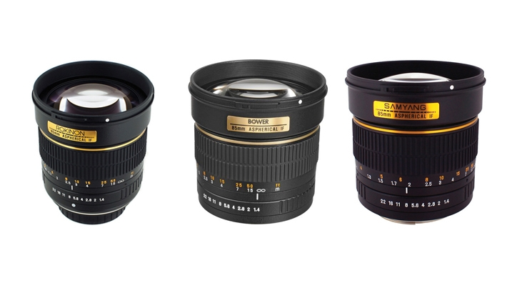 Three Lenses With Same Specs, Which Would You Choose?