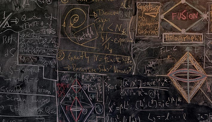 Photographing Quantum Physicists' Chalkboards