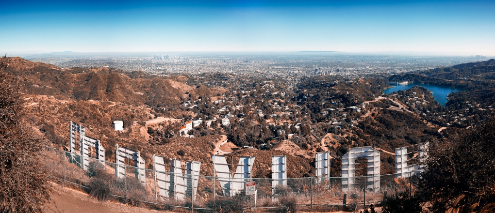 Hollywood Under Blue Skies