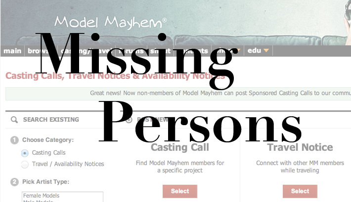 Three Women on Modeling Sites Go Missing in Denver