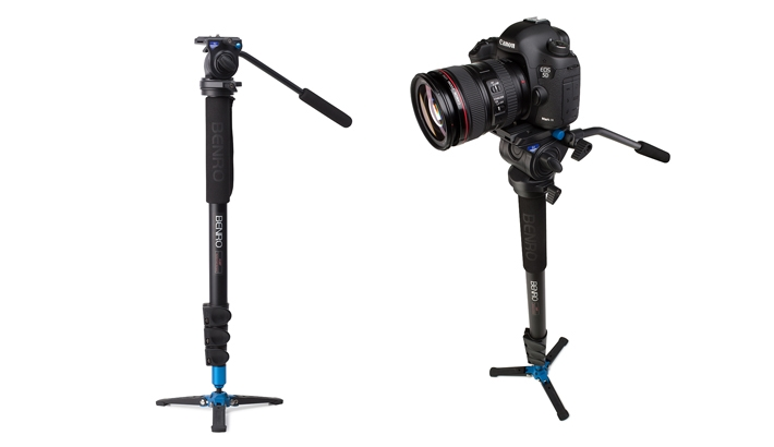 Benro Announces New Video Monopods
