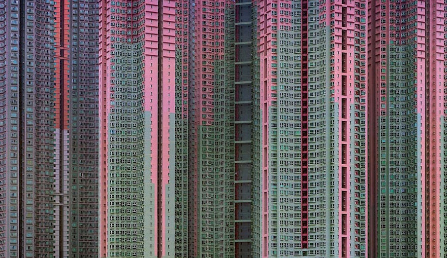 Incredible Photos of Architectural Density in Hong Kong