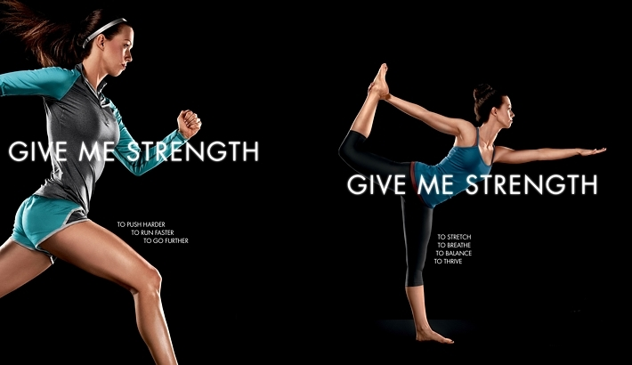 "Shooting Muscle Milk's ""Give Me Strength"" Campaign"
