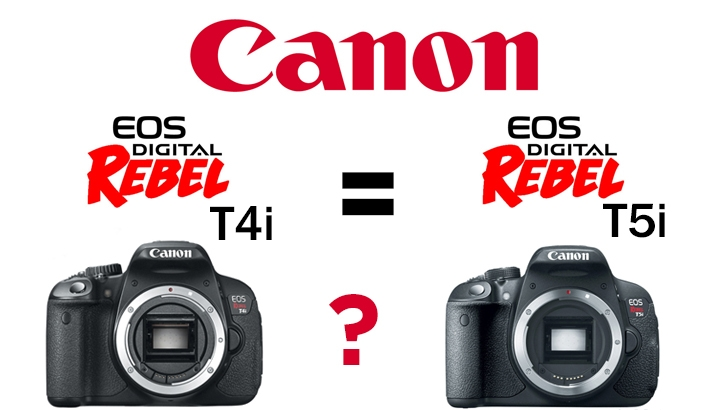 Has Canon Admitted The Difference Between The T4i and T5i is Nothing?
