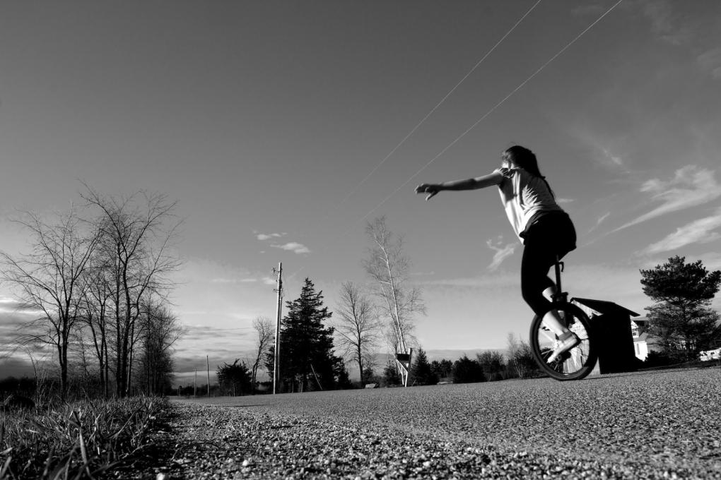 Unicycle Selfie