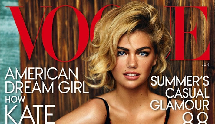 Kate Upton Brings Curves To Vogue