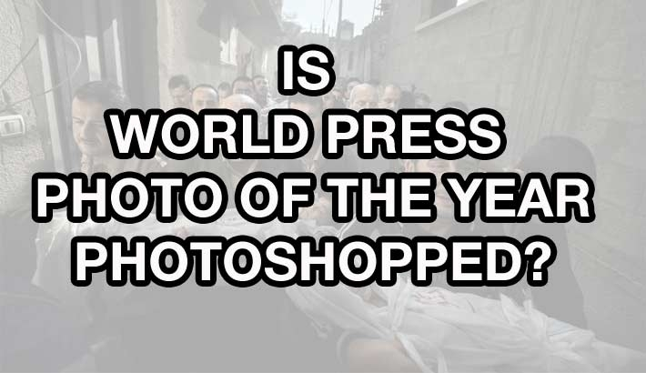 UPDATED: Is World Press Photo Photoshopped?