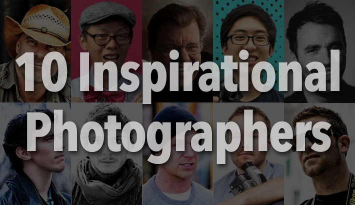10 Photographers to Look to for Inspiration
