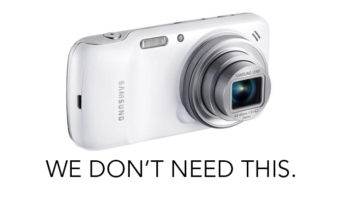 No Samsung, We Don't Need the Galaxy S4 Zoom