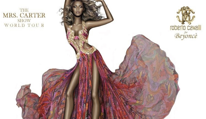 Cavalli Press Release Shows Bizarre Unrealistically Skinny Photoshopped Image of Beyoncé