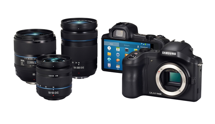 This is Cool: Samsung Announces First Interchangeable Lens Camera with 3G/4G