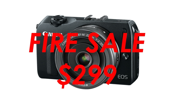 Fire Sale: The Canon EOS M is Only $299