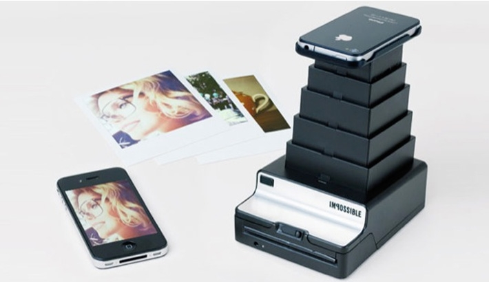 Impossible Project App Integrates iPhone and Polaroid