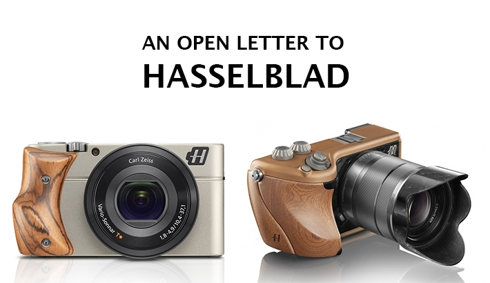 Dear Hasselblad: I Like That You're Widening Your Audience, But Hate How You're Doing It