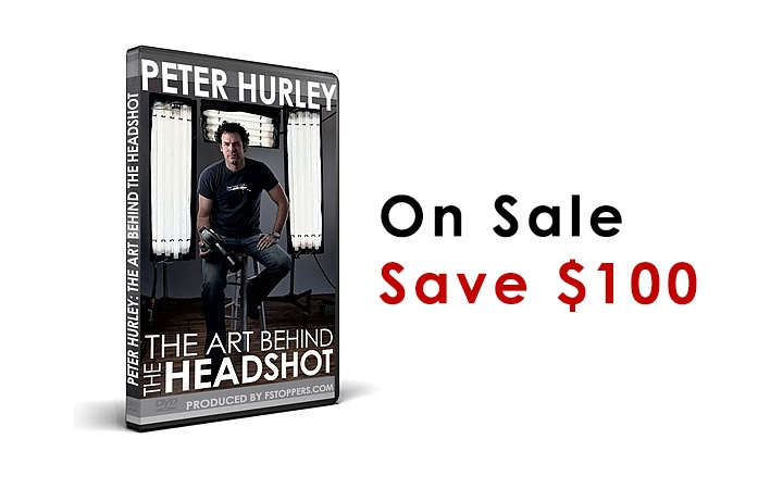 The Peter Hurley Headshot DVD Is On Sale, Save $100