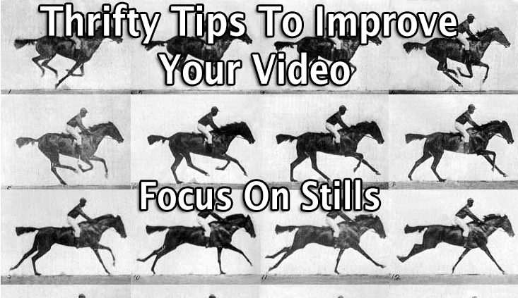 To Shoot Better Video, Focus on Photography