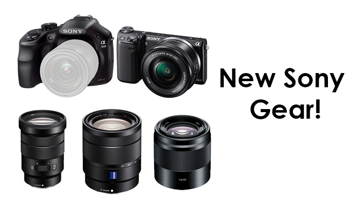 Big Product Announcements From Sony! 3 Lenses and 2 Brand New Cameras!