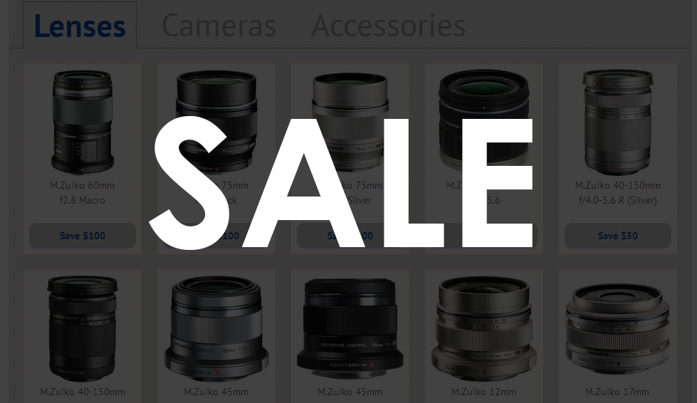 $150 off Olympus Cameras and Lenses Plus Lumix G 20mm f/1.7 II Lens Now Available!