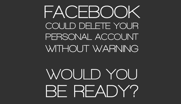 Facebook Can Delete Your Personal Account If You Do Any Business On It