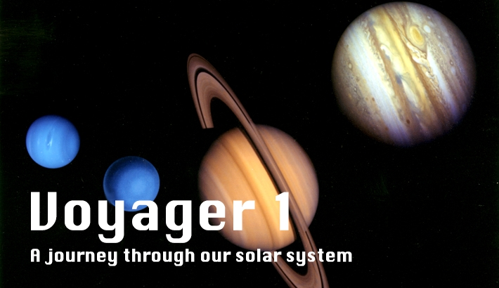Voyager 1's Journey Through our Solar System in Photographs
