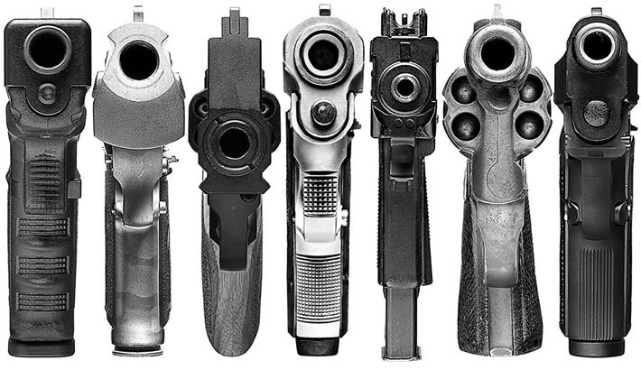 "Shooting ""Point Blank"" - High Resolution Gun Photography"