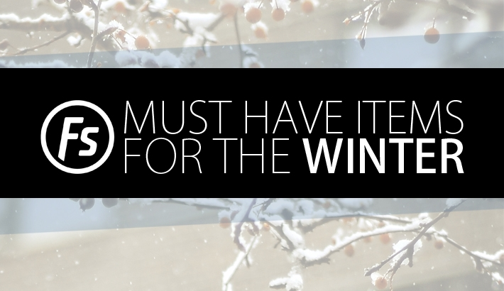 Get Ready For The Winter With These Must Have Items
