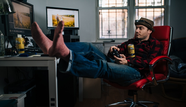 How to Kick Back and Completely Edit your Photos in Lightroom with an Xbox Controller