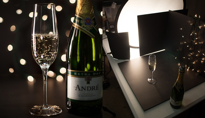 Shooting A Champagne Toast On A Budget