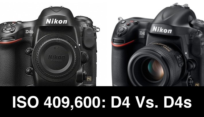 First Nikon D4s Vs. D4 High ISO Image Comparison