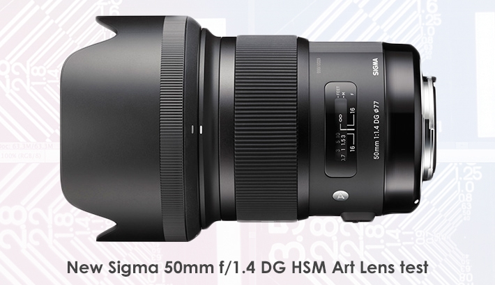 New Sigma 50mm f/1.4 DG HSM Art Lens Test