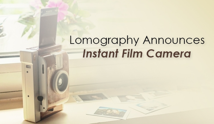 Lomography Announces Instant Film Camera