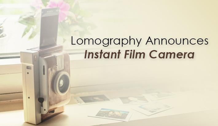 Lomography Announces Instant Film Camera