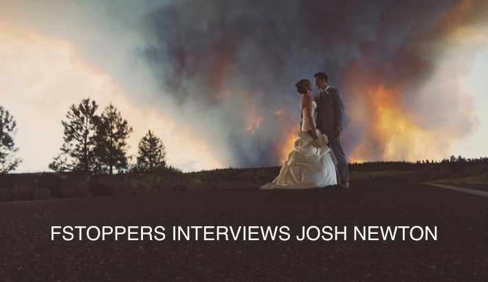 Josh Newton Photographs Wedding During Forest Fire