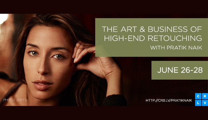 The Art And Business Of High End Retouching On Creative Live