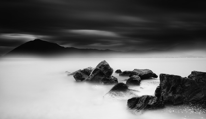 Series Creates Dreamlike Black and White Landscapes Through Lengthy Exposures