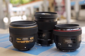 Battle of the Fast 50mm: Sigma f/1.4 Art vs. Canon f/1.2L vs. Nikon 58mm f/1.4G