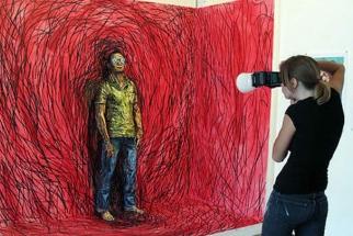 Alexa Meade's Living Paintings