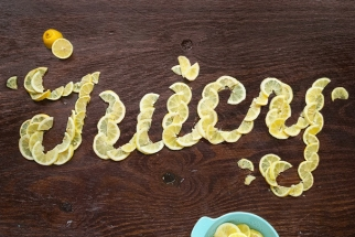 Brilliant Mix of Edibles, Photography and Text: Food Typography