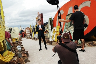 Celebrity Covershoot at Amazing Locations in Las Vegas You Need to See to Believe